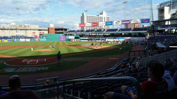 Dunkin' Donuts Park, section: 111, row: K, seat: 1