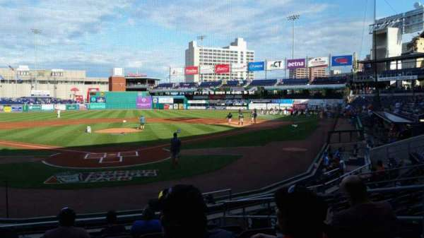 Dunkin' Donuts Park, section: 111, row: K, seat: 6