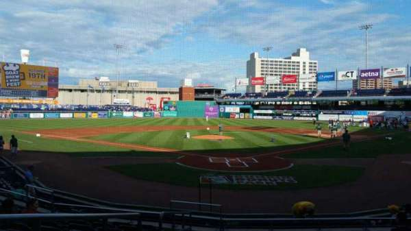 Dunkin' Donuts Park, section: 111, row: K, seat: 14
