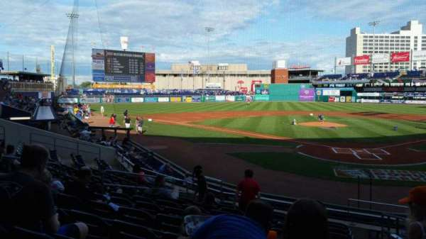 Dunkin' Donuts Park, section: 112, row: L, seat: 1