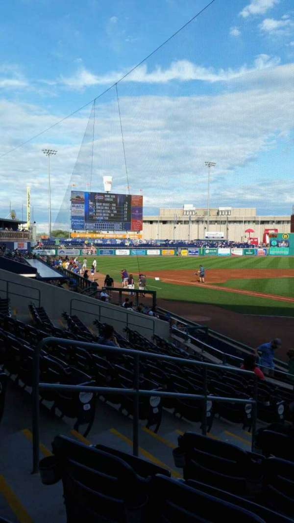 Dunkin' Donuts Park, section: 112, row: L, seat: 8