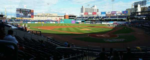 Dunkin' Donuts Park, section: 112, row: L, seat: 11
