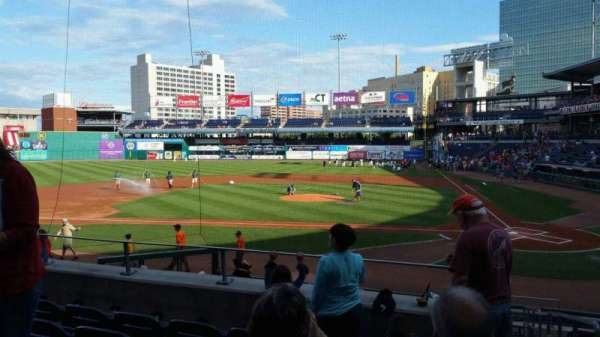 Dunkin' Donuts Park, section: 114, row: P, seat: 1