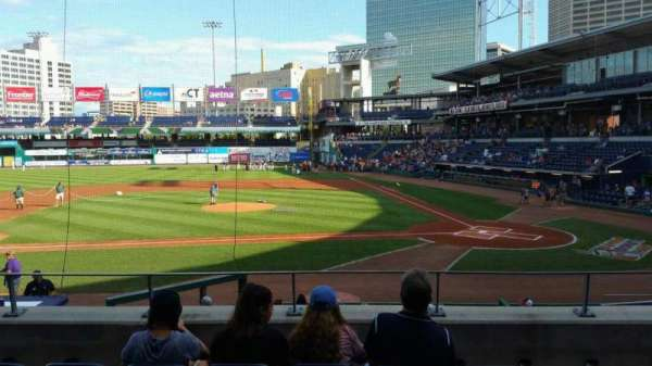 Dunkin' Donuts Park, section: 114, row: P, seat: 12