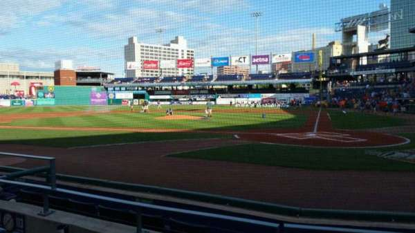 Dunkin' Donuts Park, section: 113, row: D, seat: 8