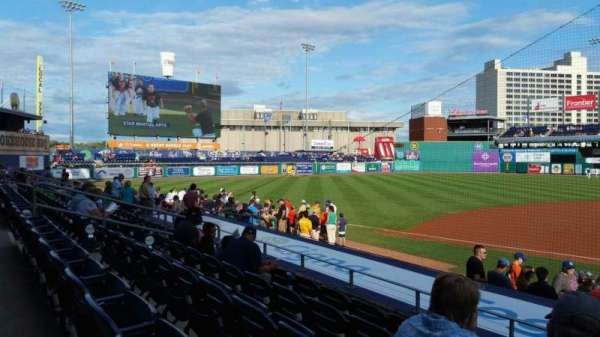 Dunkin' Donuts Park, section: 116, row: K, seat: 1