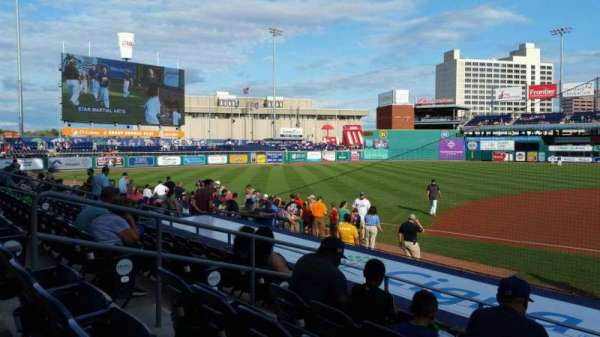 Dunkin' Donuts Park, section: 116, row: K, seat: 8