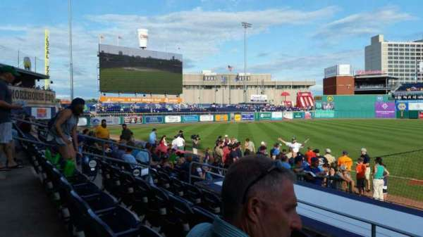 Dunkin' Donuts Park, section: 117, row: J, seat: 1