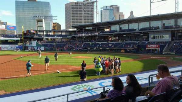 Dunkin' Donuts Park, section: 117, row: J, seat: 7
