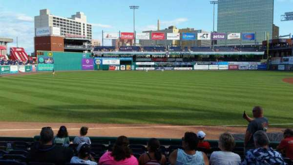 Dunkin' Donuts Park, section: 120, row: H, seat: 9
