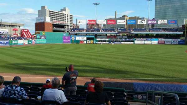 Dunkin' Donuts Park, section: 120, row: H, seat: 1