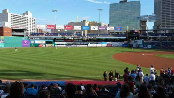 Dunkin' Donuts Park, section: 119, row: P, seat: 8