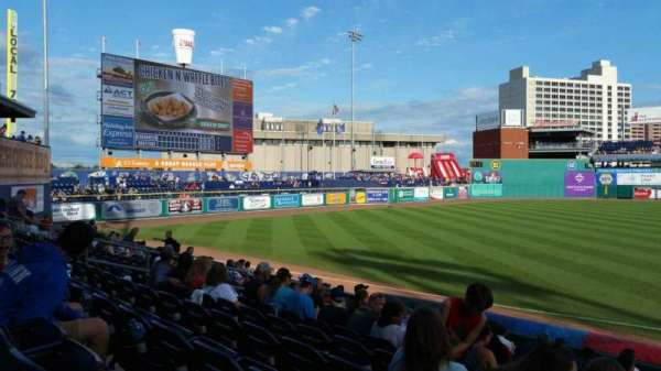 Dunkin' Donuts Park, section: 119, row: M, seat: 1