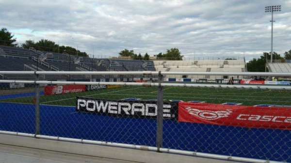 James M. Shuart Stadium, section: 7, row: 1, seat: 1