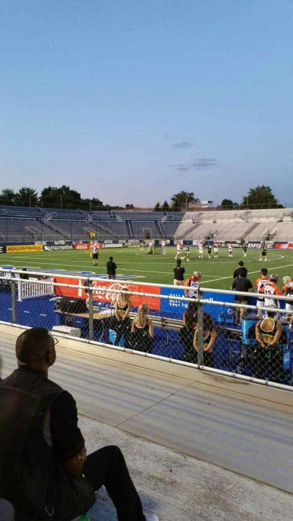 James M. Shuart Stadium, section: 4, row: D, seat: 27