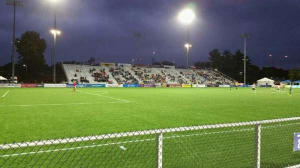 Dillon Stadium, section: 2, row: A, seat: 22