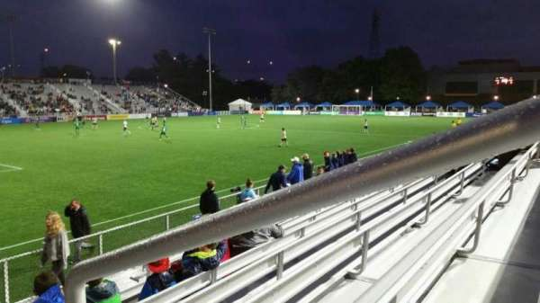 Dillon Stadium, section: 1, row: G, seat: 1