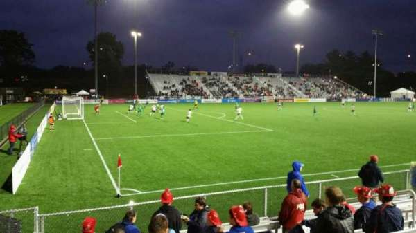 Dillon Stadium, section: 1, row: G, seat: 12