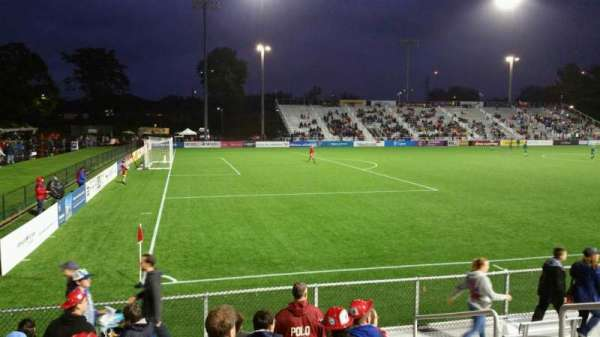Dillon Stadium, section: 1, row: G, seat: 6