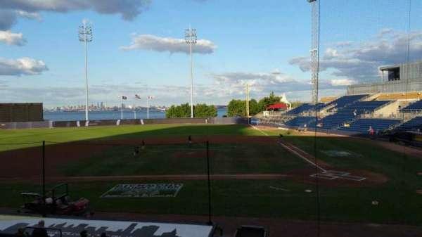 Richmond County Bank Ballpark, section: 7, row: R, seat: 8