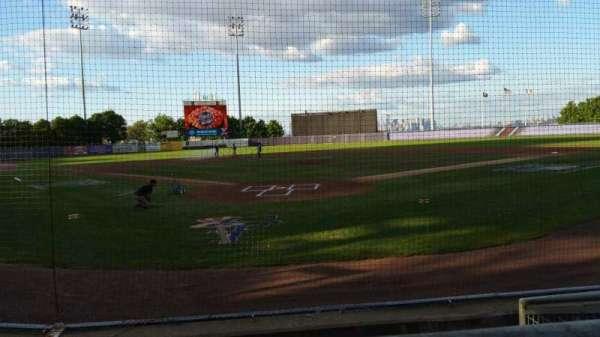 Richmond County Bank Ballpark, section: 9, row: E, seat: 1