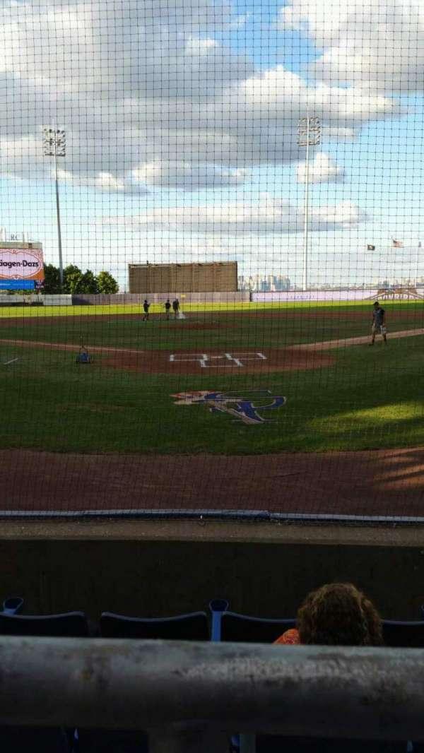Richmond County Bank Ballpark, section: 9, row: E, seat: 9