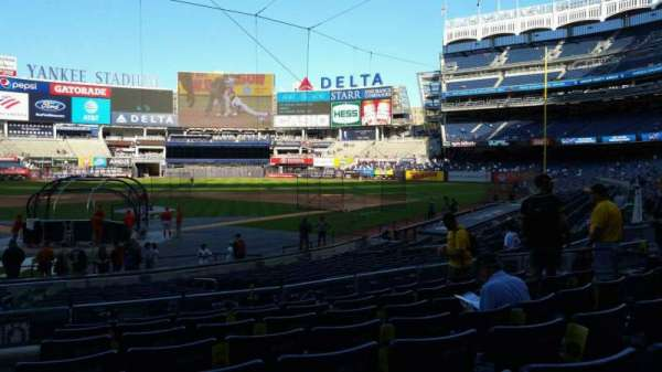 Yankee Stadium, section: 119, row: 8, seat: 13