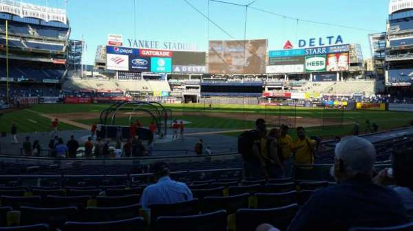 Yankee Stadium, section: 119, row: 8, seat: 7