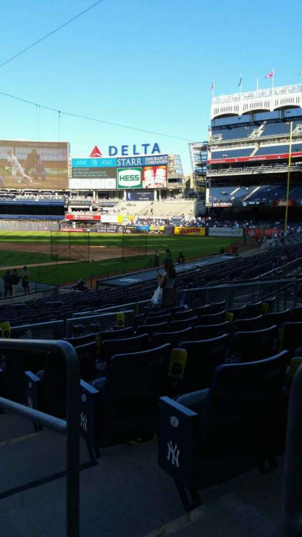 Yankee Stadium, section: 119, row: 8, seat: 1