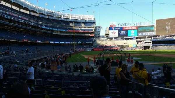 Yankee Stadium, section: 119, row: 8, seat: 1