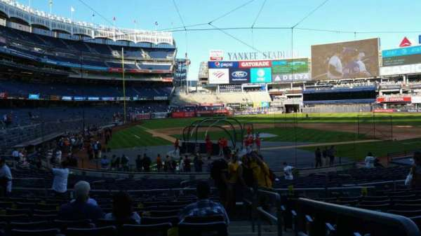 Yankee Stadium, section: 119, row: 11, seat: 1