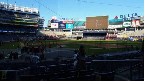 Yankee Stadium, section: 118, row: 6, seat: 7