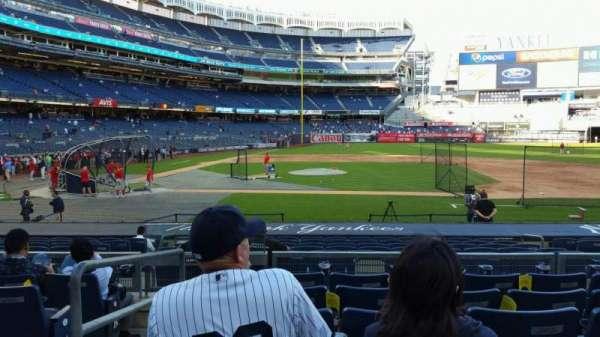 Yankee Stadium, section: 116, row: 6, seat: 18