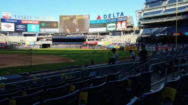 Yankee Stadium, section: 116, row: 6, seat: 10