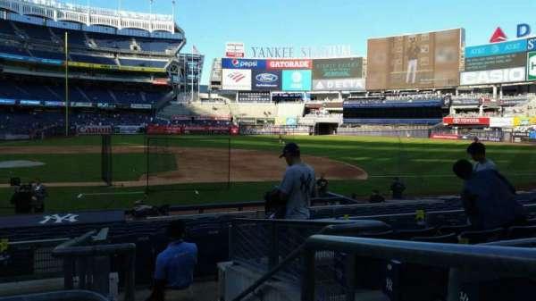 Yankee Stadium, section: 116, row: 6, seat: 1