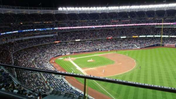 Yankee Stadium, section: 409, row: 1, seat: 10