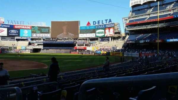 Yankee Stadium, section: 116, row: 8, seat: 1