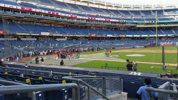 Yankee Stadium, section: 115, row: 6, seat: 14
