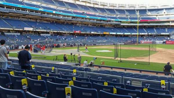 Yankee Stadium, section: 115, row: 6, seat: 1