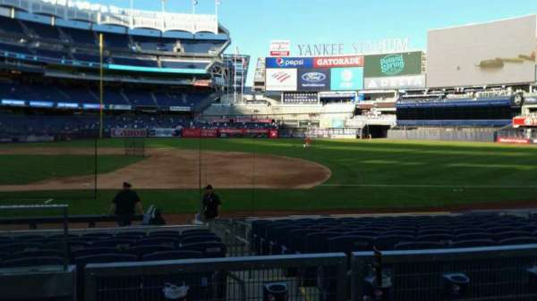 Yankee Stadium, section: 114B, row: 3, seat: 16