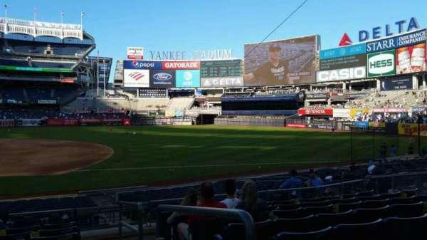 Yankee Stadium, section: 114B, row: 8, seat: 1