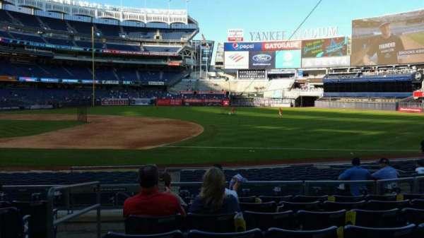 Yankee Stadium, section: 114A, row: 7, seat: 13