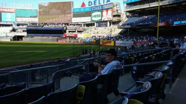 Yankee Stadium, section: 114A, row: 7, seat: 7
