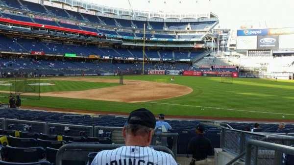 Yankee Stadium, section: 114A, row: 7, seat: 1