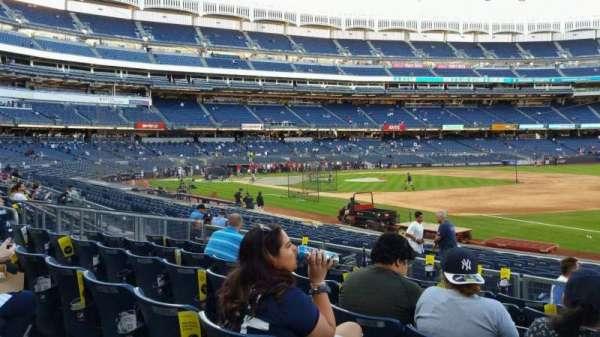 Yankee Stadium, section: 113, row: 7, seat: 1