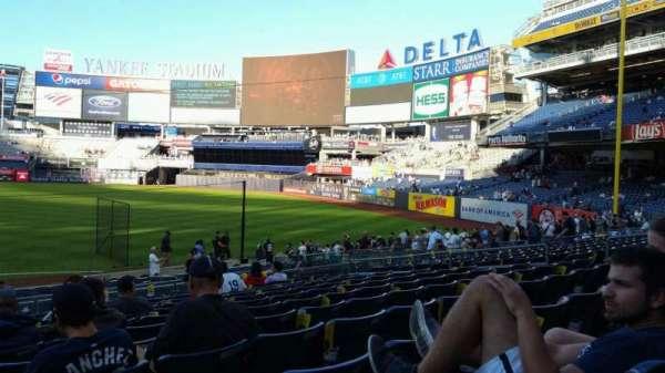 Yankee Stadium, section: 112, row: 11, seat: 16