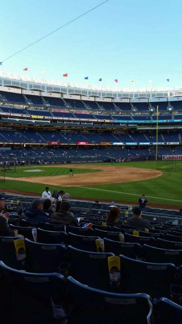 Yankee Stadium, section: 112, row: 11, seat: 8