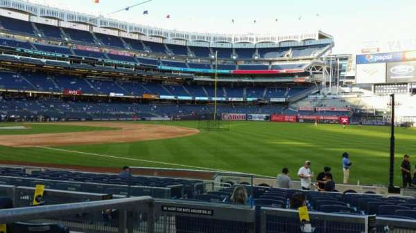 Yankee Stadium, section: 111, row: 15, seat: 16