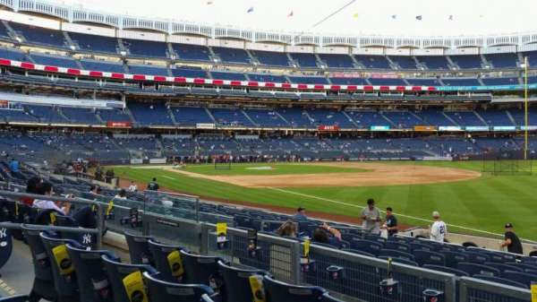 Yankee Stadium, section: 111, row: 15, seat: 8