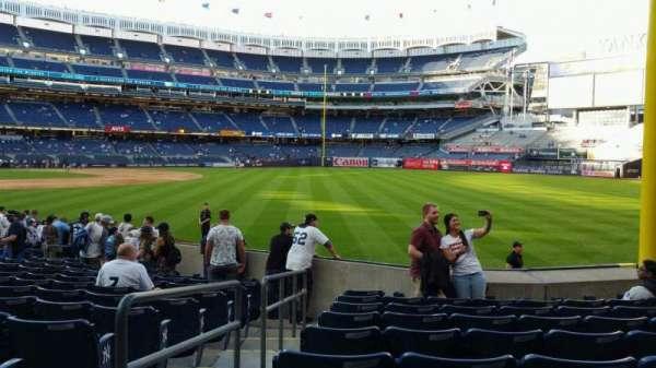 Yankee Stadium, section: 108, row: 9, seat: 12